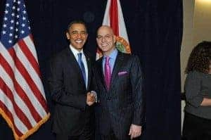 Randy Gage i Barrack Obama