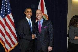 Randy Gage i Barrack Obama