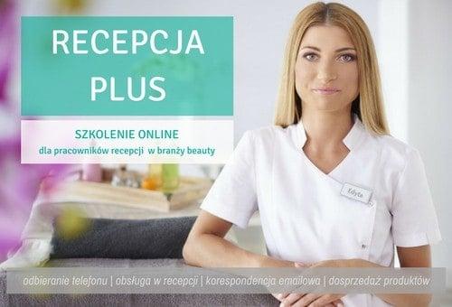 Szkolenie online Recepcja PLUS dla pracowników recepcji i obsługi klienta